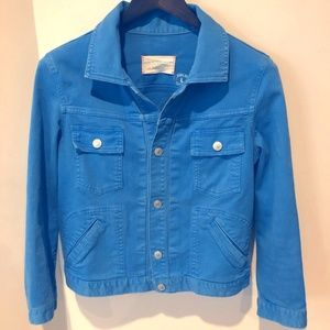 Marc Jacobs Bright Blue By Lily Jacket